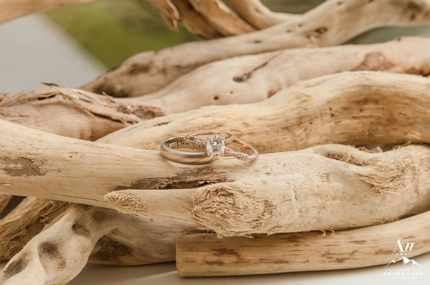 Iceland Wedding Rings - Your Adventure Wedding
