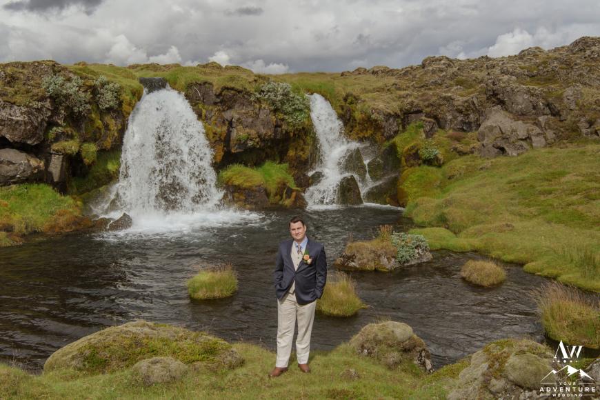Iceland Elopement - Groom Attire - Suit