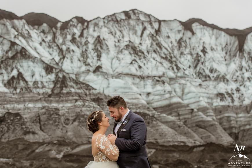 Iceland Adventure Wedding at a Glacier-54