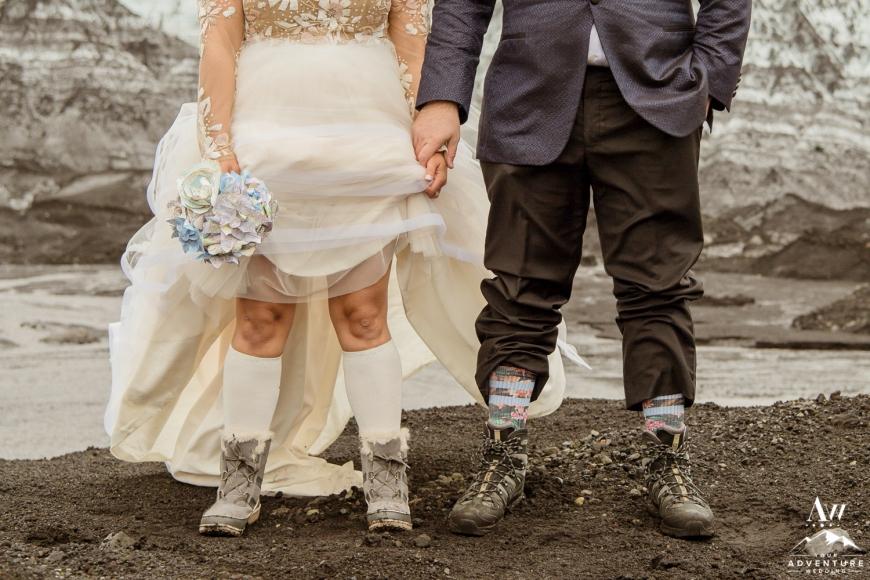 Iceland Adventure Wedding Shoes
