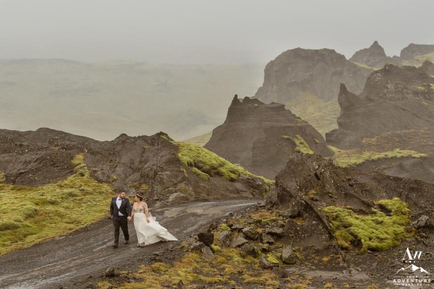 Iceland Canyon Wedding-2