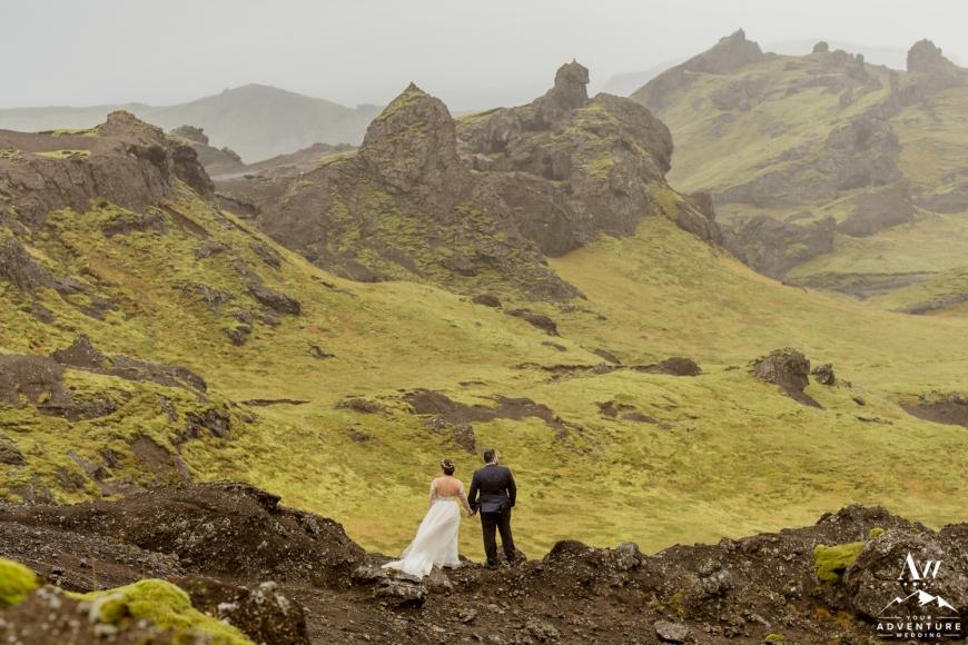 Iceland Canyon Wedding-4