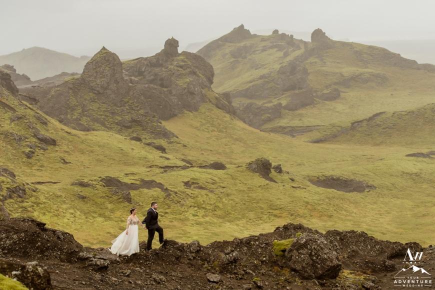 Iceland Canyon Wedding-5