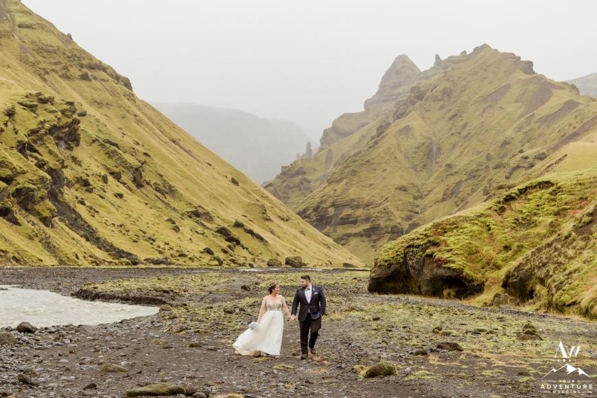 Iceland Canyon Wedding-6