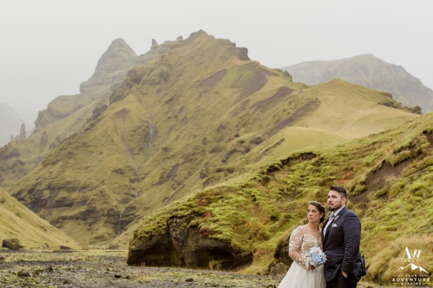 Iceland Canyon Wedding-8