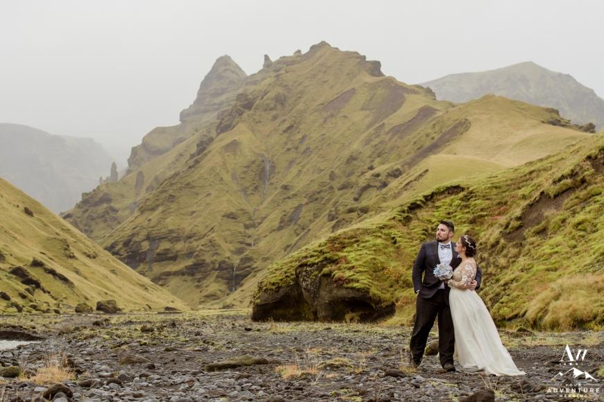 Iceland Canyon Wedding-9