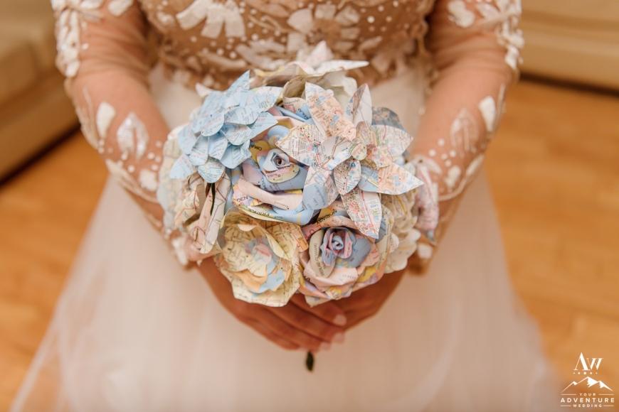 Iceland Destination Wedding Bouquet