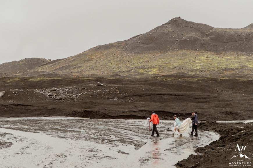 Iceland Hiking Wedding-1