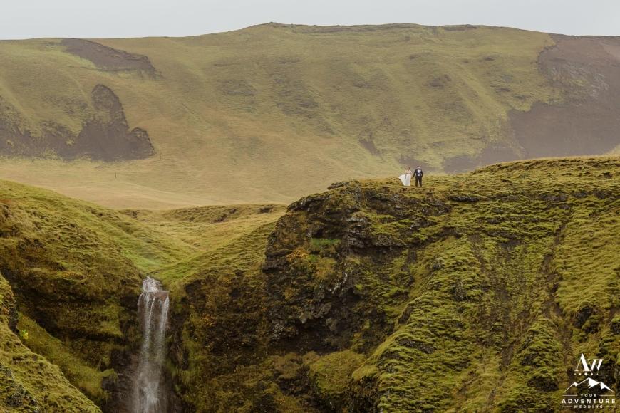 Iceland Waterfall Wedding Photographer-89