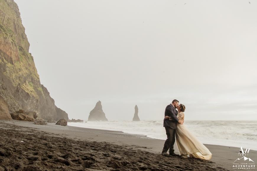 Iceland Wedding at a Beach-116