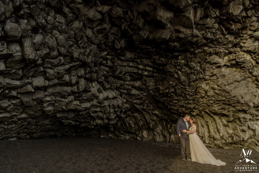 Iceland Wedding at a Cave-118