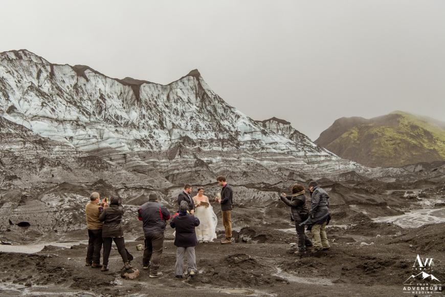 Iceland Wedding at a Glacier-33
