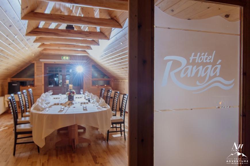 Iceland Wedding at Hotel Ranga