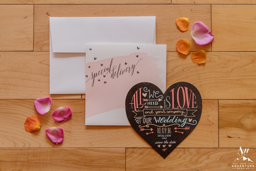 Iceland wedding invitations-Iceland wedding planner