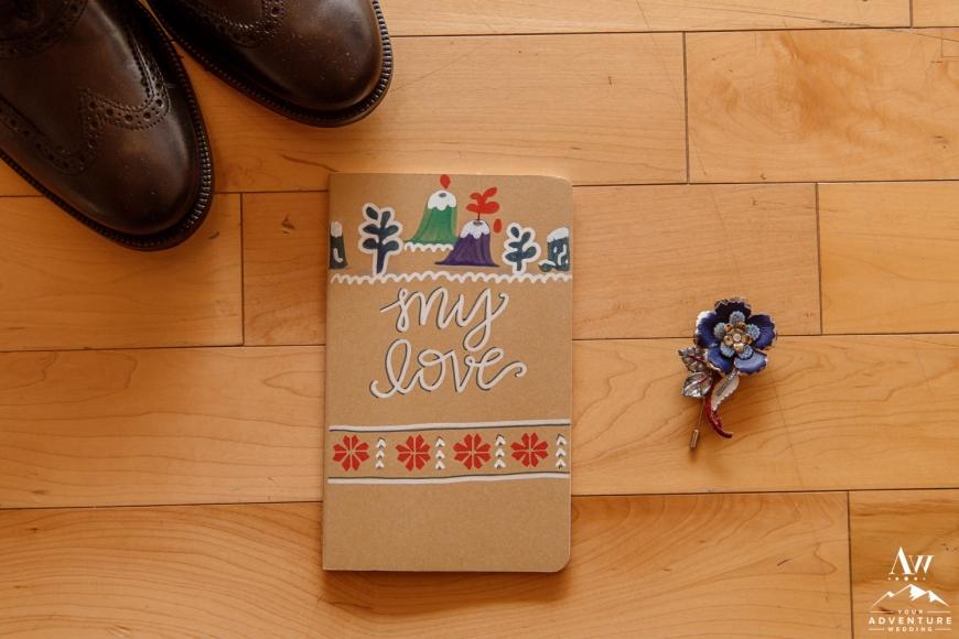 Iceland Wedding Vow Book