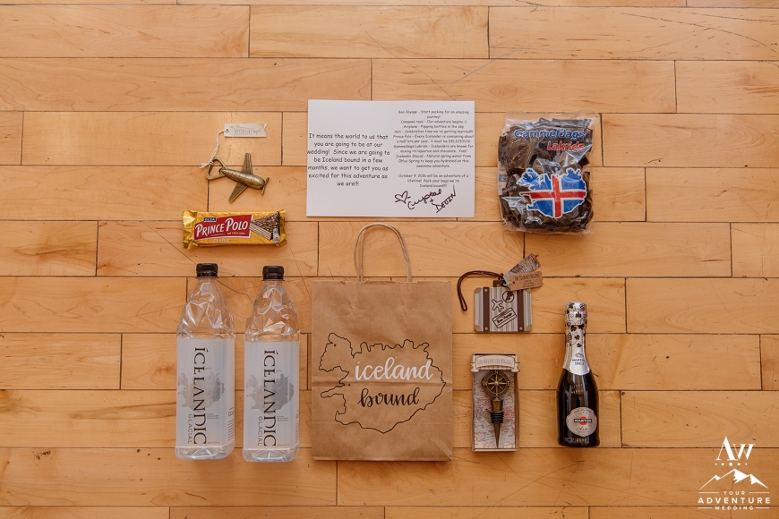 Iceland Wedding Welcome Bag Ideas-Iceland Wedding Planner