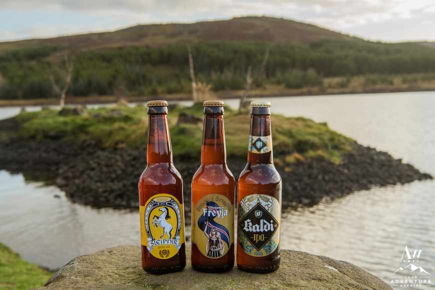 Iceland Wedding Beers
