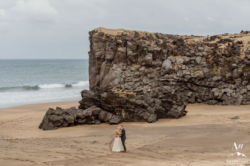 Iceland Beach Wedding Snaefellsnes