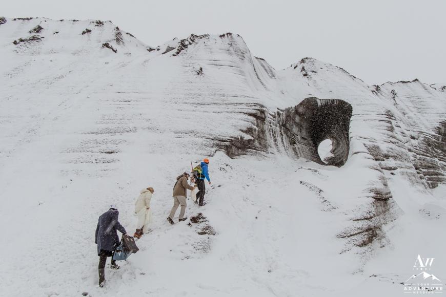 Iceland Ice Cave Wedding-10