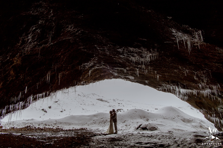 Iceland Ice Cave Wedding-34