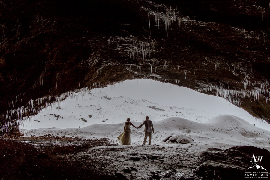 Iceland Ice Cave Wedding-35