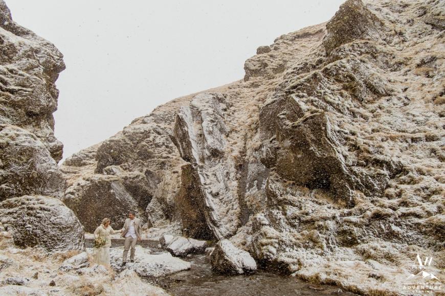 Iceland Ice Cave Wedding-43