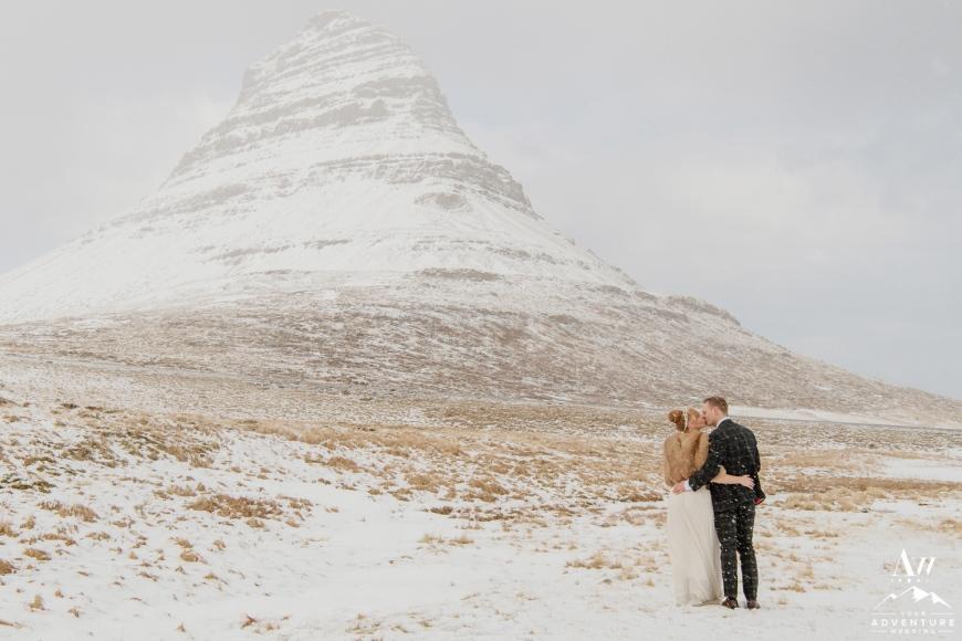 iceland wedding-kirkjufell mountain