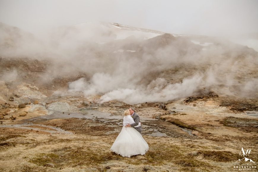 Iceland Wedding Locations-Private Geothermal Area