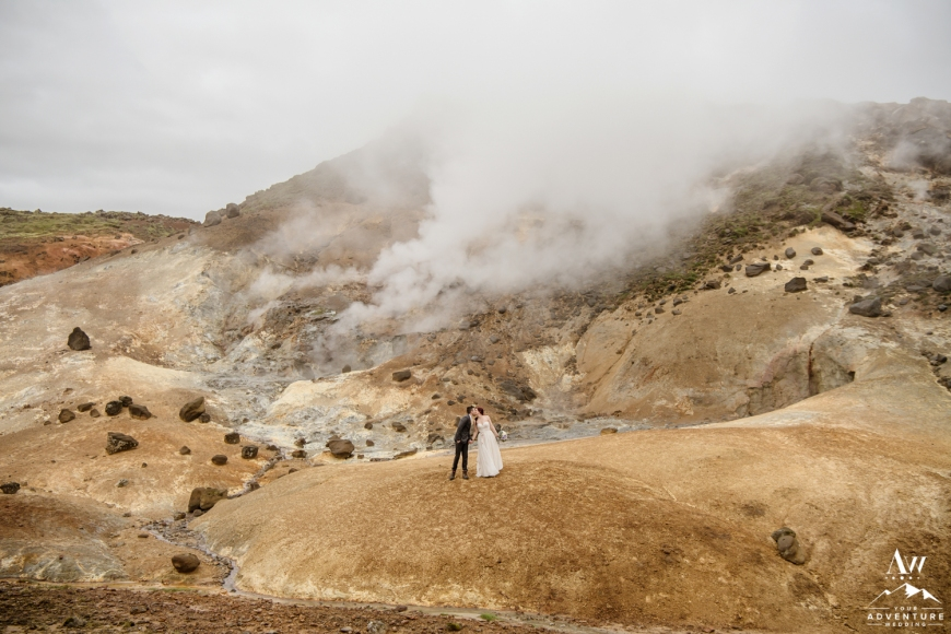 Iceland Wedding Private Geothermal Area-Your Adventure Wedding
