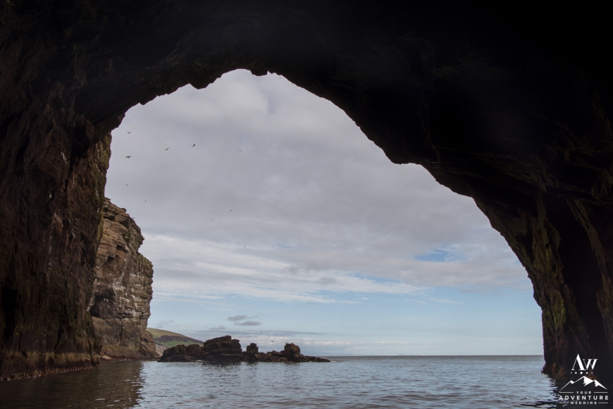 Westman Islands Iceland Wedding Cave-24